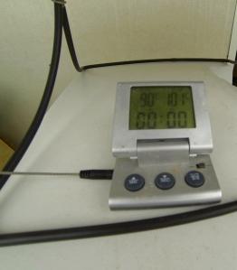 90°C enligt termometern